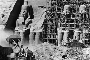 Az Abu Szimbel-i templomok áthelyezése, 1964-1968.