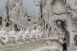 Wat Rong Khun a világ legszebb temploma