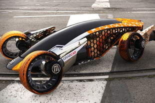 Hihetetlen futurikus járművek.