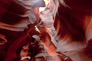 Az Antilop-kanyon.