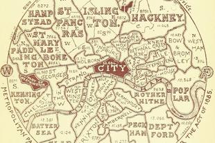 Érdekes térképek Londonról.