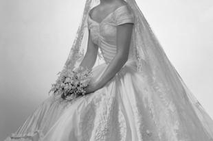 John F. Kennedy és Jacqueline Bouvier esküvője.