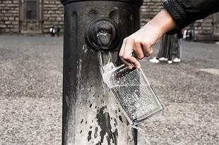 A tökéletes vizes üveg turisták számára: megmutatja, hogy a városban hol található ivóvíz csap.