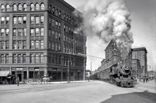 Nagyvárosok régi fotókon