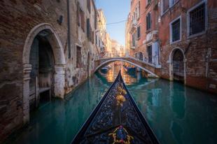 Festői okok, hogy télen látogasson el Velencébe Albert Dros szemével.