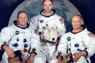 Az Apollo 11 küldetés.