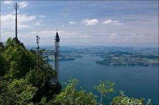 Hammetschwand lift, Európa legmagasabb kültéri liftje.
