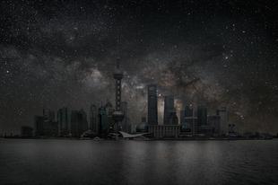 Így néznének ki a városok éjszaka, fények nélkül.