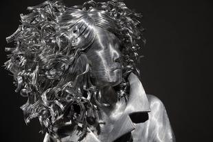 Hihetetlen szobrok alumínium drótból.