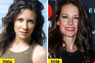 1990-es és a 2000-es évek hírességei akkor és most.