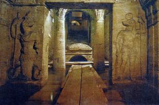 Kom el Shoqafa katakombák