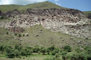 Vardzia barlangváros.