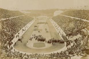 Képek a korai olimpiai játékokról