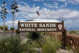 White Sands - fehér sivatag Új-Mexikóban
