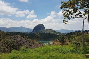 A Piedra del Peñol monolit.