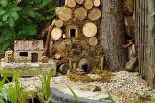 Csodás mini falu egereknek.