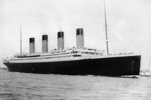 Az RMS Titanic túlélői.
