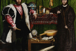 A leghíresebb anamorfózist használó festmény