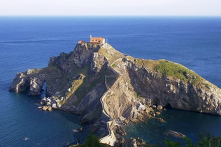 A Gaztelugatxe sziget