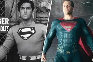 18 szuperhősös film karakter régen és most.