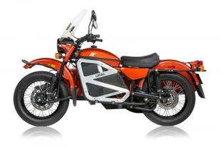 Elektromos Ural motorkerékpár