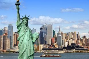 Amerika 10 legnagyobb állama.