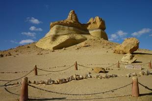 Wadi El-Hitan, a Bálnák völgye.
