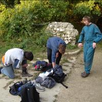 Medvebarlangoló - Szorítópróba, lyukérzék, traverzálás
