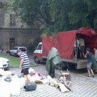 Tábori blog: Bepakoltunk, elindult az előtábor