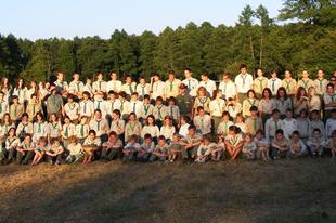 A 2011-es tábori csapatfotó