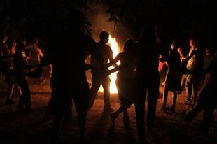 Hagyományos tábortűz – rendhagyó helyszínen: szeptember 28, Nagykovácsi
