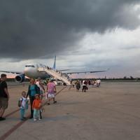 Repülőn kisgyerekkel
