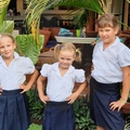 Állami iskolában Nicaraguában