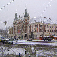 Újpest hóban