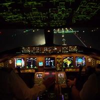 Ilyen egy éjszakai landolás egy Boeing 777-essel a New York-i JFK-n