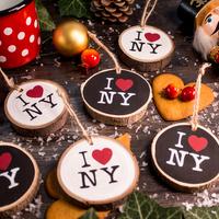 Tennél egy kis New Yorkot a karácsonyfádra?