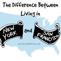 Miben más New York és San Francisco? Rajzokon a válaszok