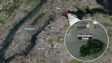 A North Brother Island története
