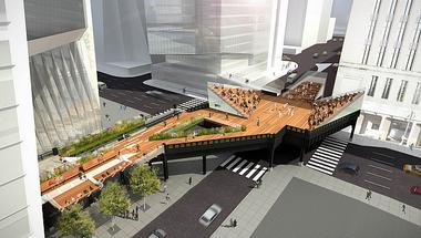 Ilyen lesz a High Line Park utolsó szakasza