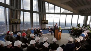 Képeken a One WTC kilátója