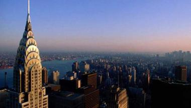 Rövid túra a Chrysler Building kupolájában