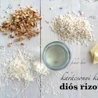 Last minute karácsonyi köret: Diós rizottó