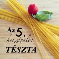 Az 5. hozzávaló: tészta
