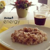 Sweet energy - Banános rizskása reggelire