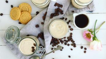 Mini espresso sajttorták