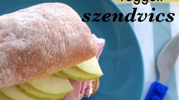 A második legfinomabb reggeli szendvics
