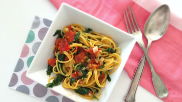 Pár perces, gluténmentes spagetti