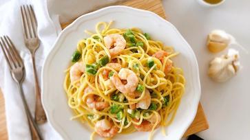 Regényből főztem - Spagetti rákkal