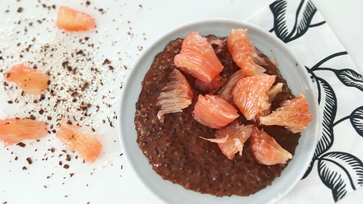 Csokis pomelos tápiókapudinggal könnyen indul a reggel