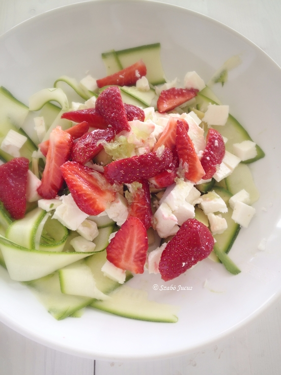 5 perces saláta 5 hozzávalóból